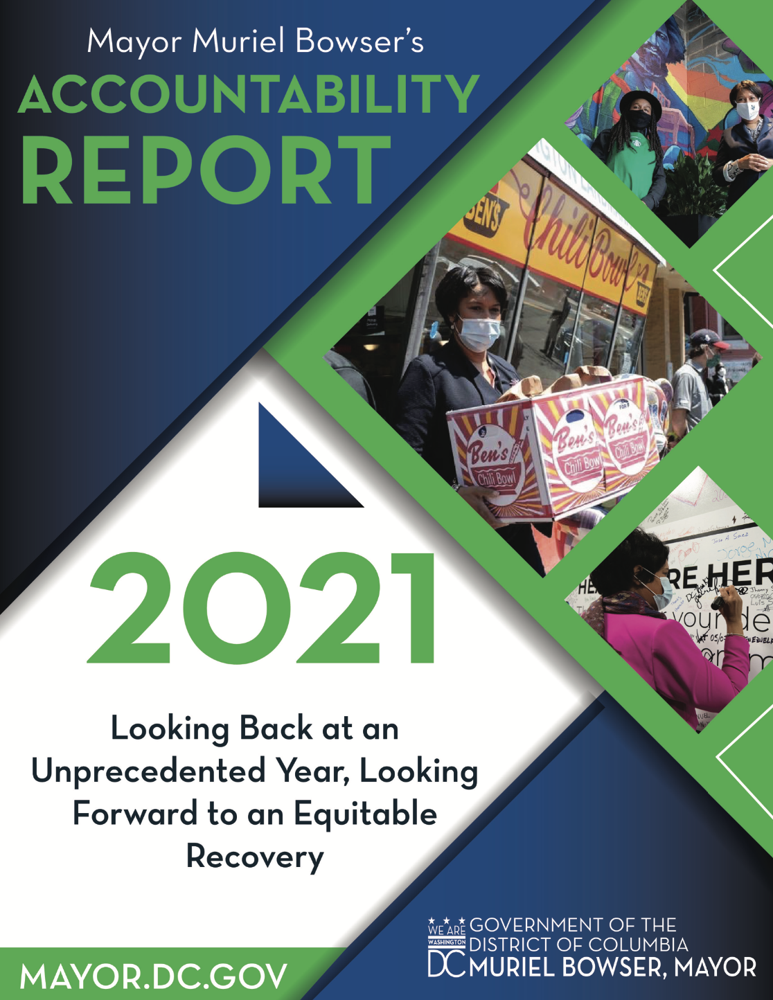 Cover of Accountability Report 2021
