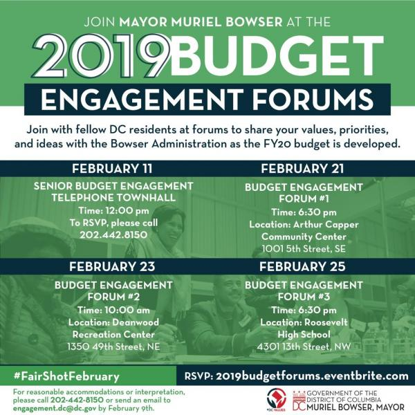 Budget Engagement Forum Graphic