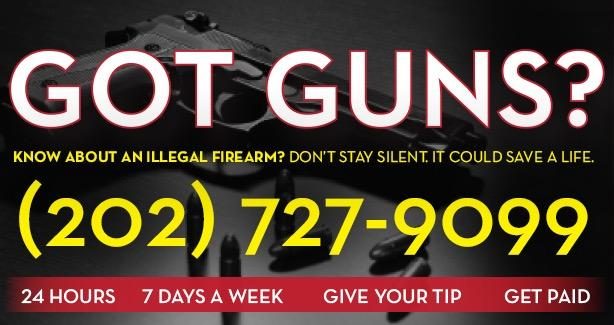 Got Guns? Call 202-727-9099