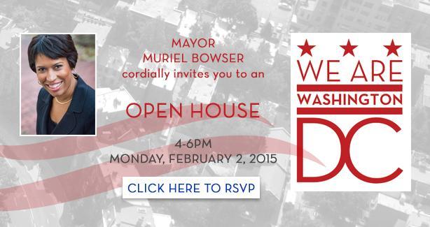 Mayor's Open House Invitation