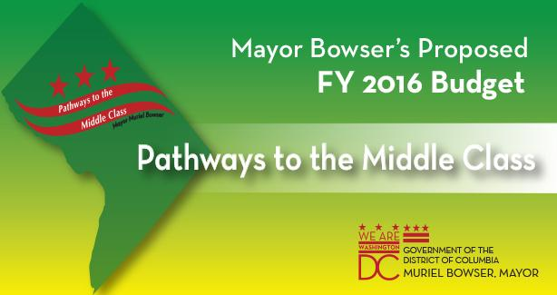 Pathways to the Middle Class 2016 Budget