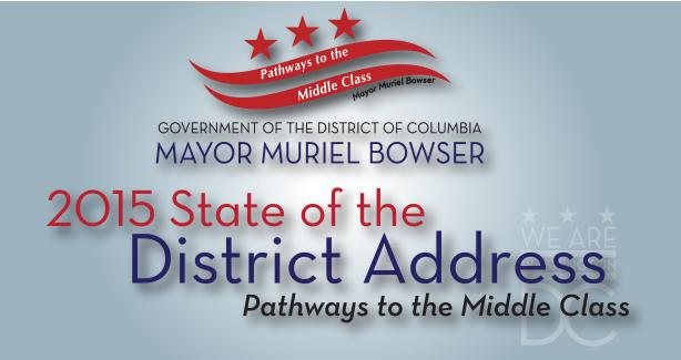 State of the District Address Banner