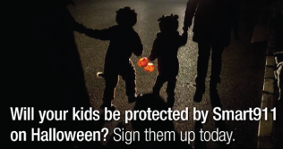 Will your child be protected by Smart911 this Halloween?