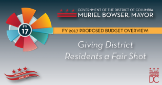 FY 2017 Proposed Budget Overview: Giving District Residents a Fair Shot