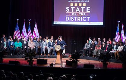 Mayor Bowser Delivers 2019 State of the District Address