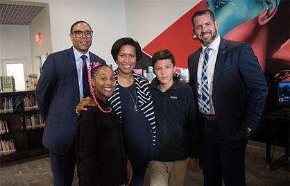 Mayor Bowser and public school officials