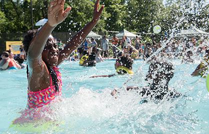 Mayor Bowser Kicks Off 2019 Outdoor Pool Season