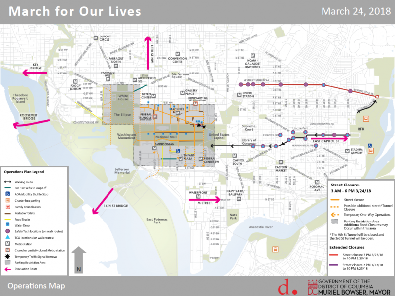 Mayor Bowser Addresses District Preparation for the March For Our ...